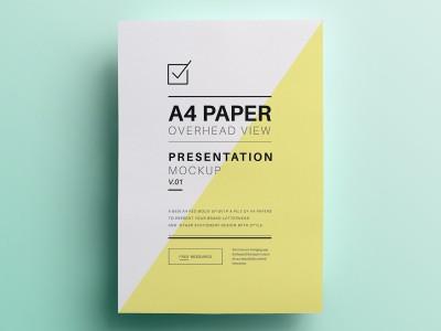 A4 Paper Presentation